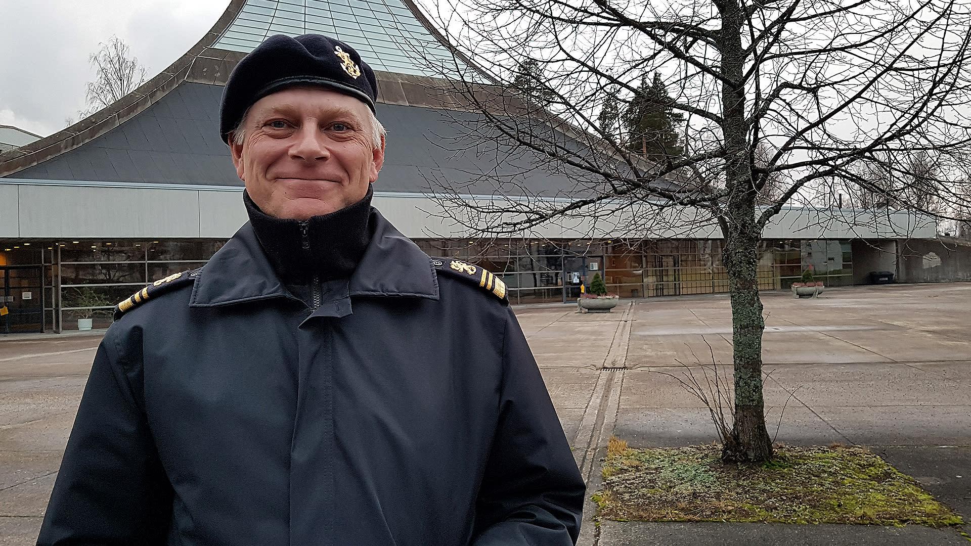 Yliluutnantti Antti-Pekka Kaarna, Lappeenrannan varuskunnan