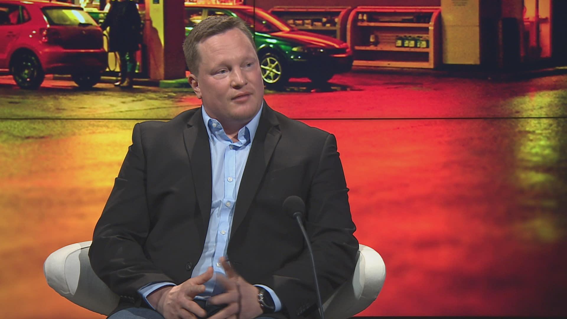 S-ryhmän hyvinvointipäällikkö Matti Räsänen A-studiossa.