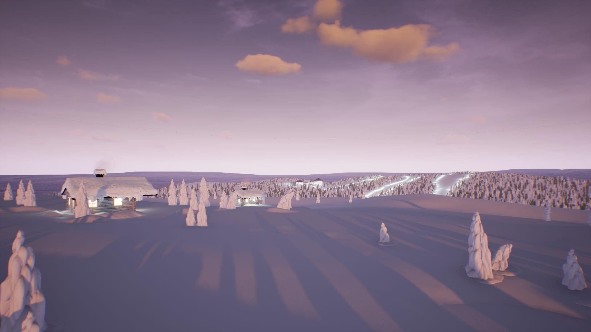 Luminen maisema, virtuaalikuva