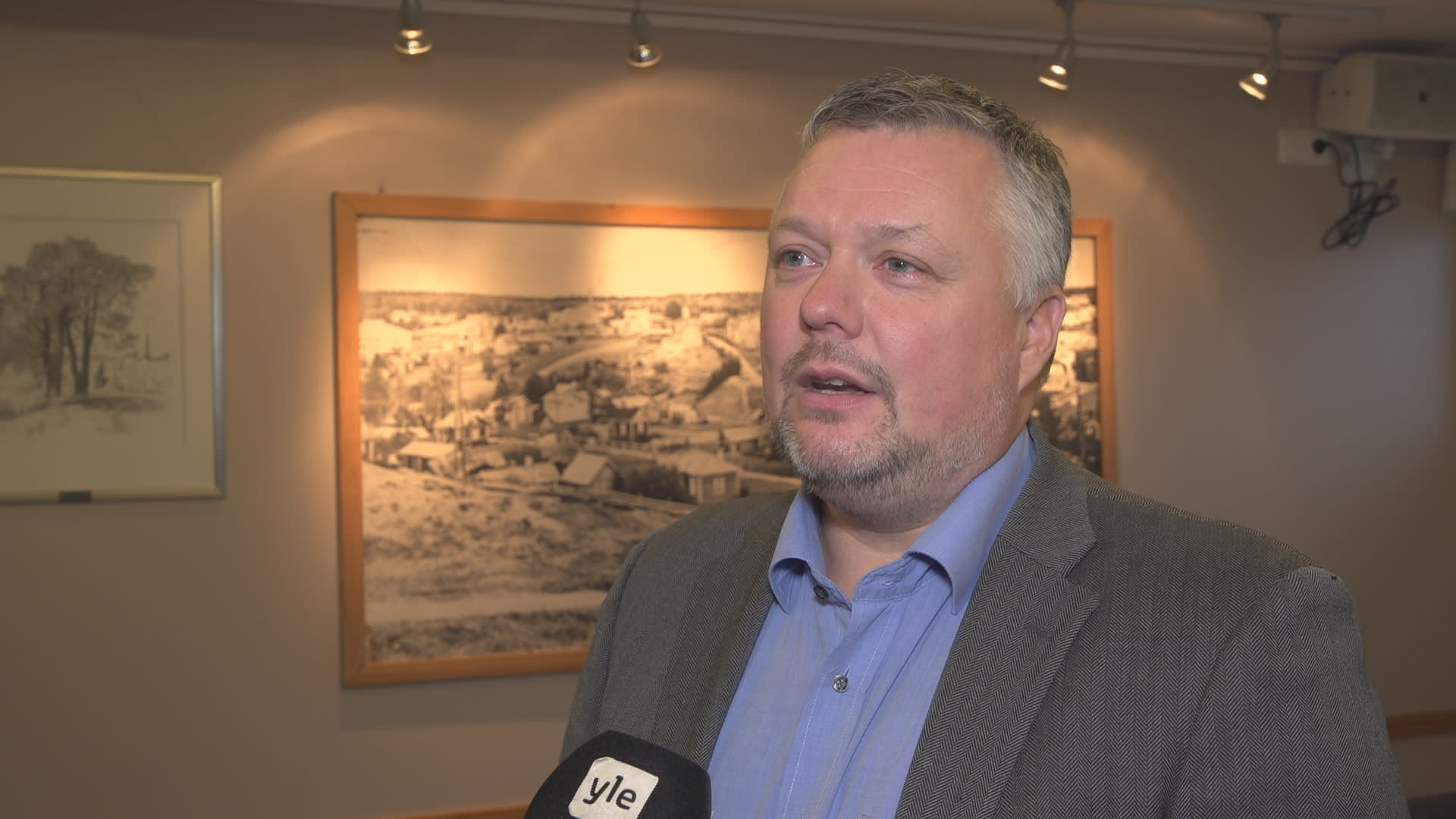 SDP:n Pirkanmaan piirin puheenjohtaja Roope Lehto.