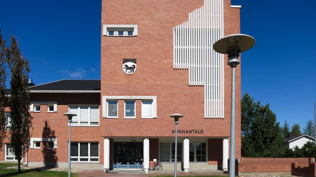 Kommunhuset i Kittilä