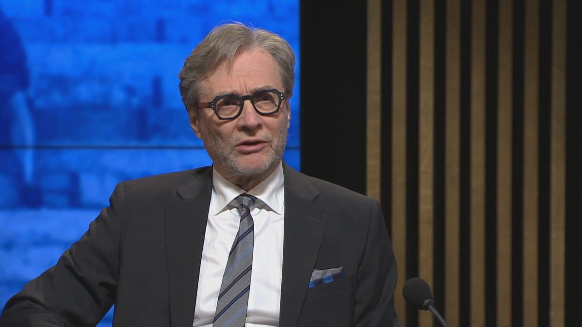 HUSin vt. toimitusjohtaja Markku Mäkijärvi A-studiossa.