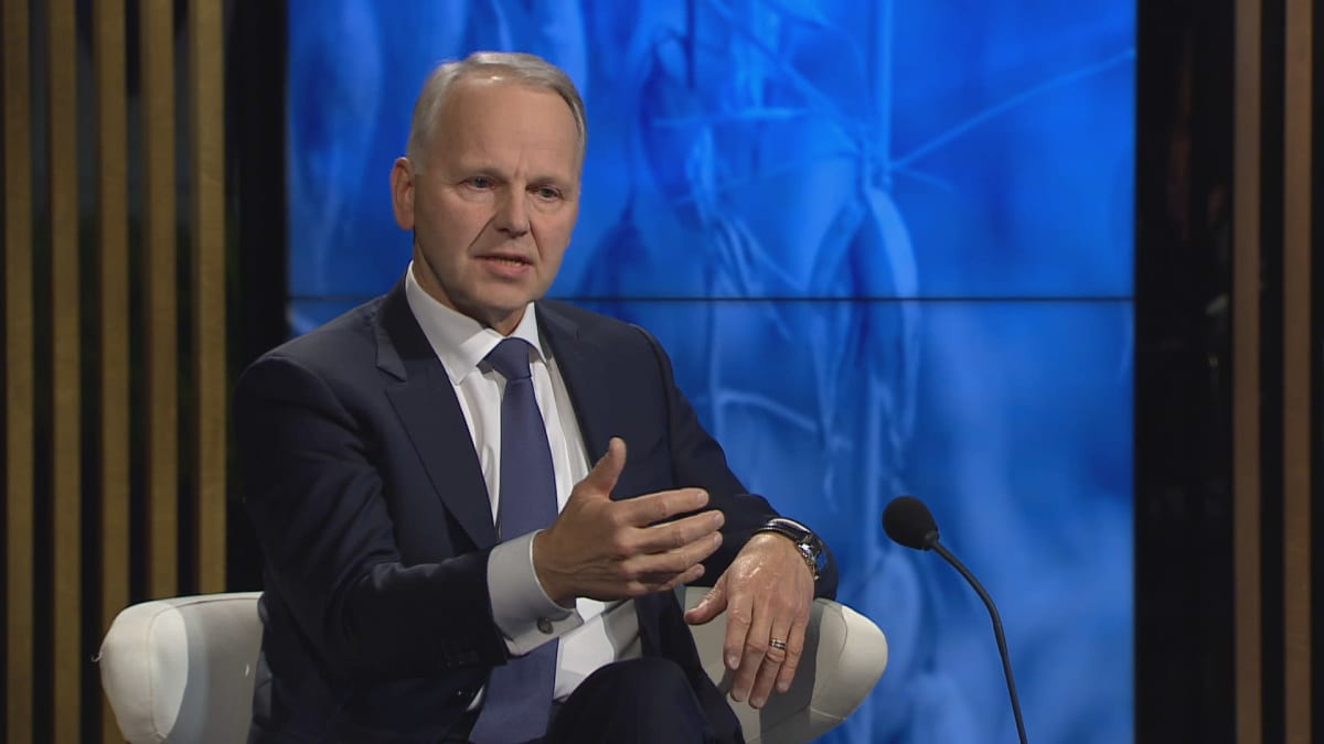 Maatalousministeri Jari Leppä (kesk.) keskusteli A-Talkissa maatalouden ilmastotoimista.
