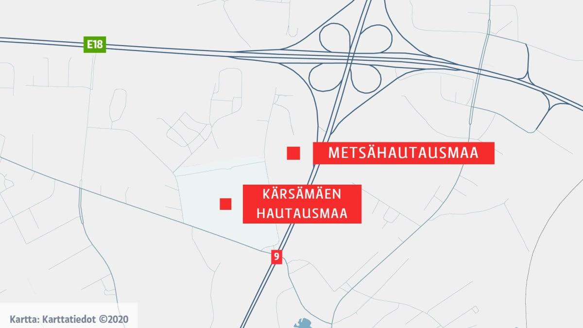 Turun Kärsämäen hautausmaa-alue