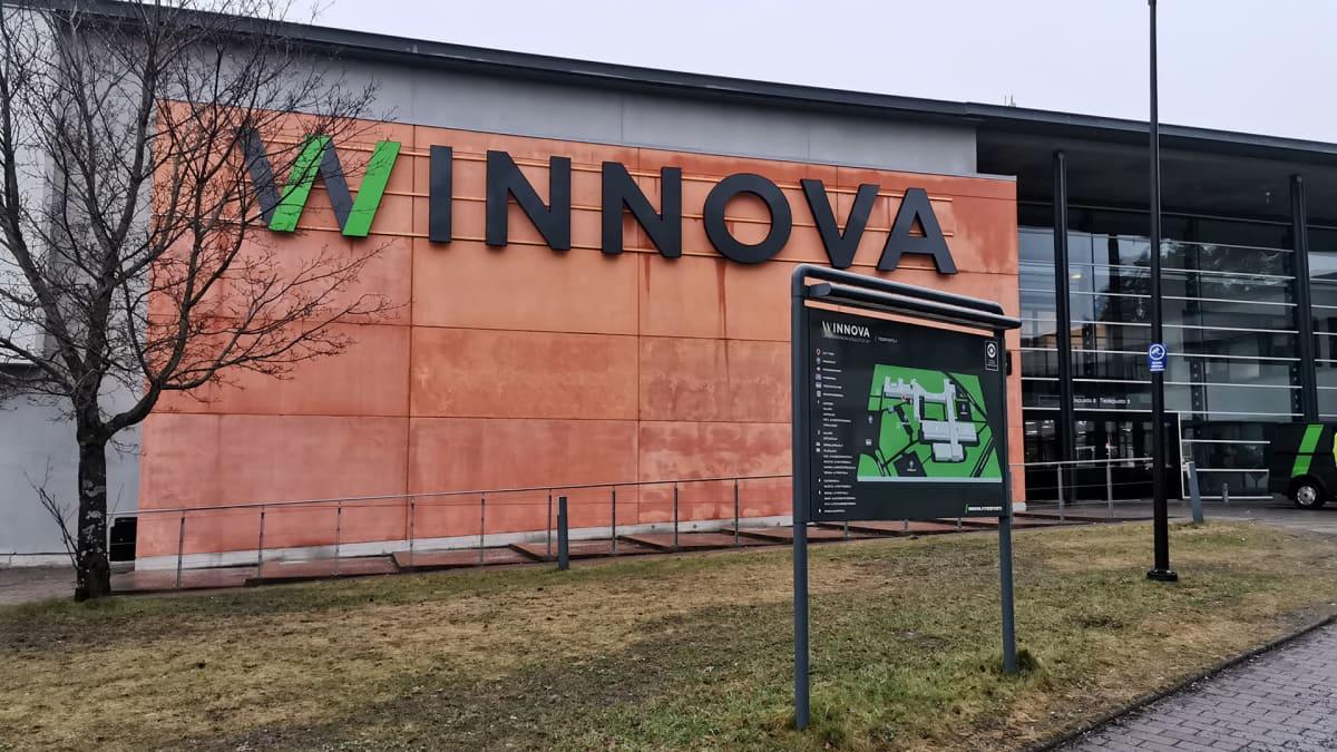 WinNovan rakennus Porissa