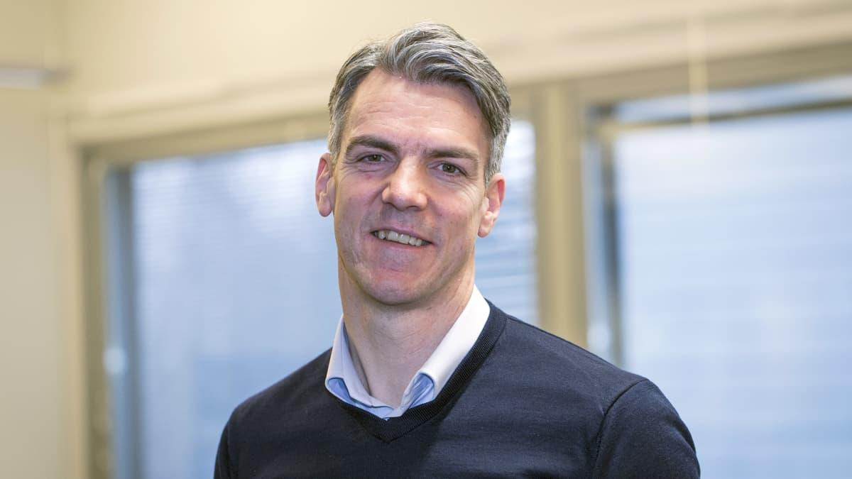 Unicusin ruotsalainen perustaja Lars Johansson-Kjelleröd