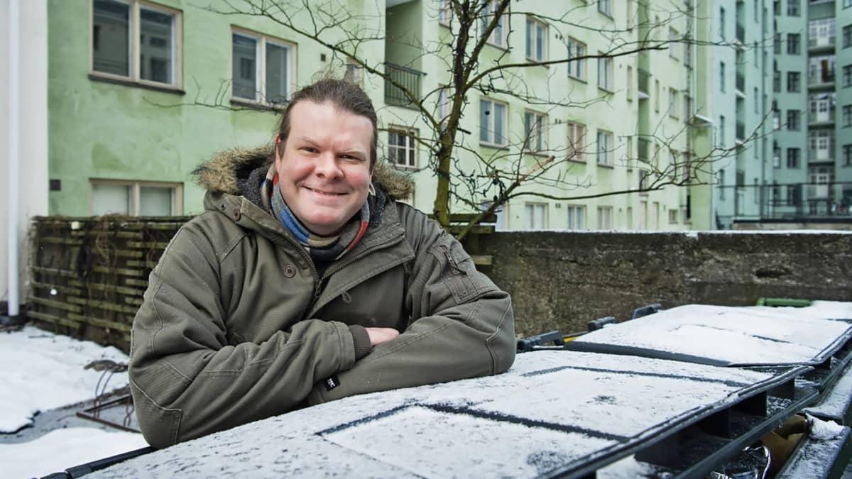 Tutkija Tuomas Aivelo