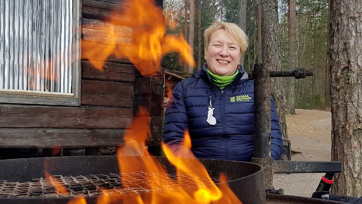 toiminnanjohtaja Heli Rautanen, Saimaa Geopark-yhdistys