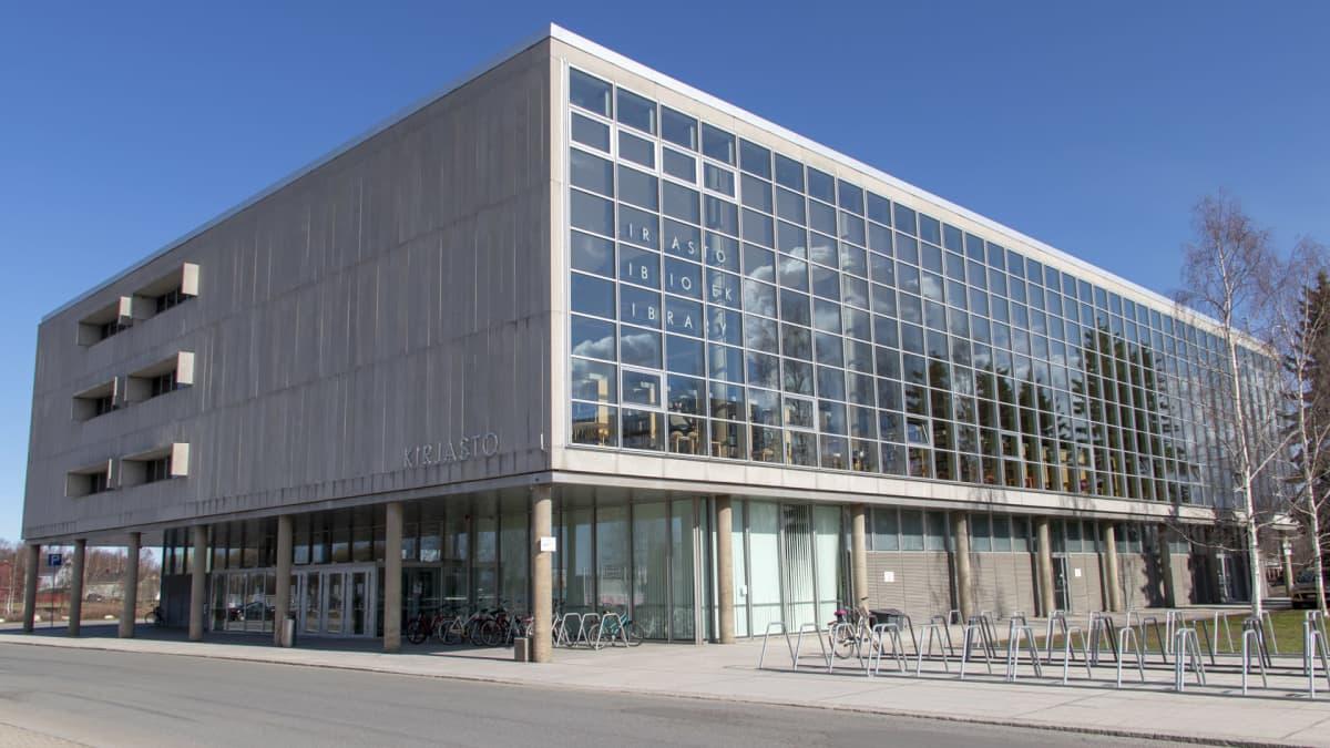 Oulun kaupunginkirjasto, ulkokuva