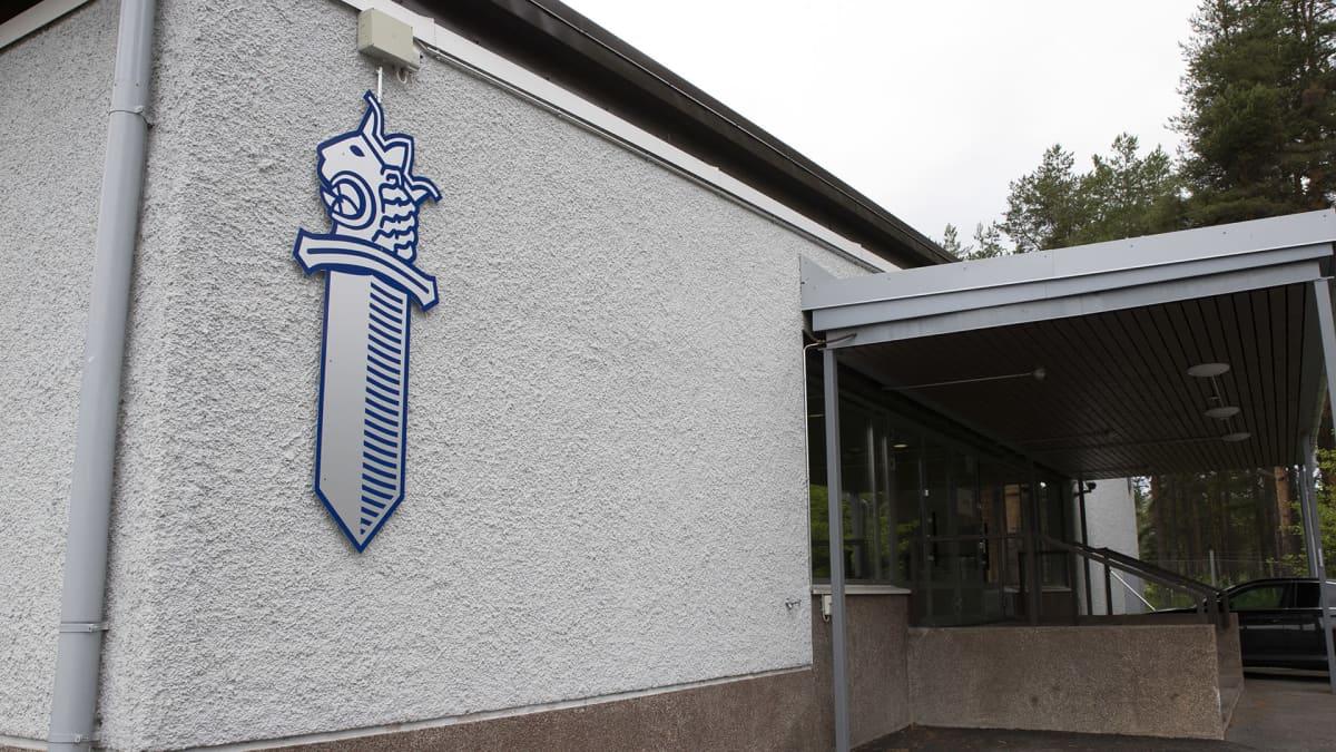 Oulun poliisilaitos Hiukkavaarassa