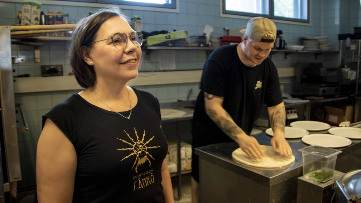 Tuba Food & Lounge Ravintoloitsija Anne Mikkola