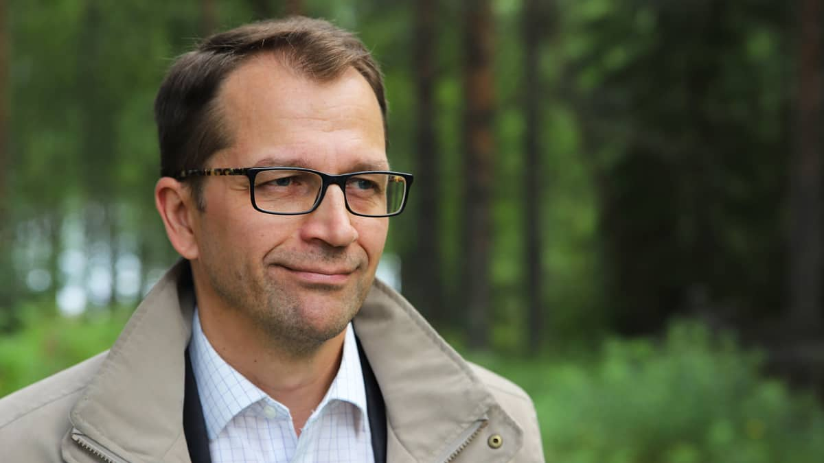 Pohjois-Suomen Metsämarkkinat Oy:n toimitusjohtaja Mika Säynäjäkangas