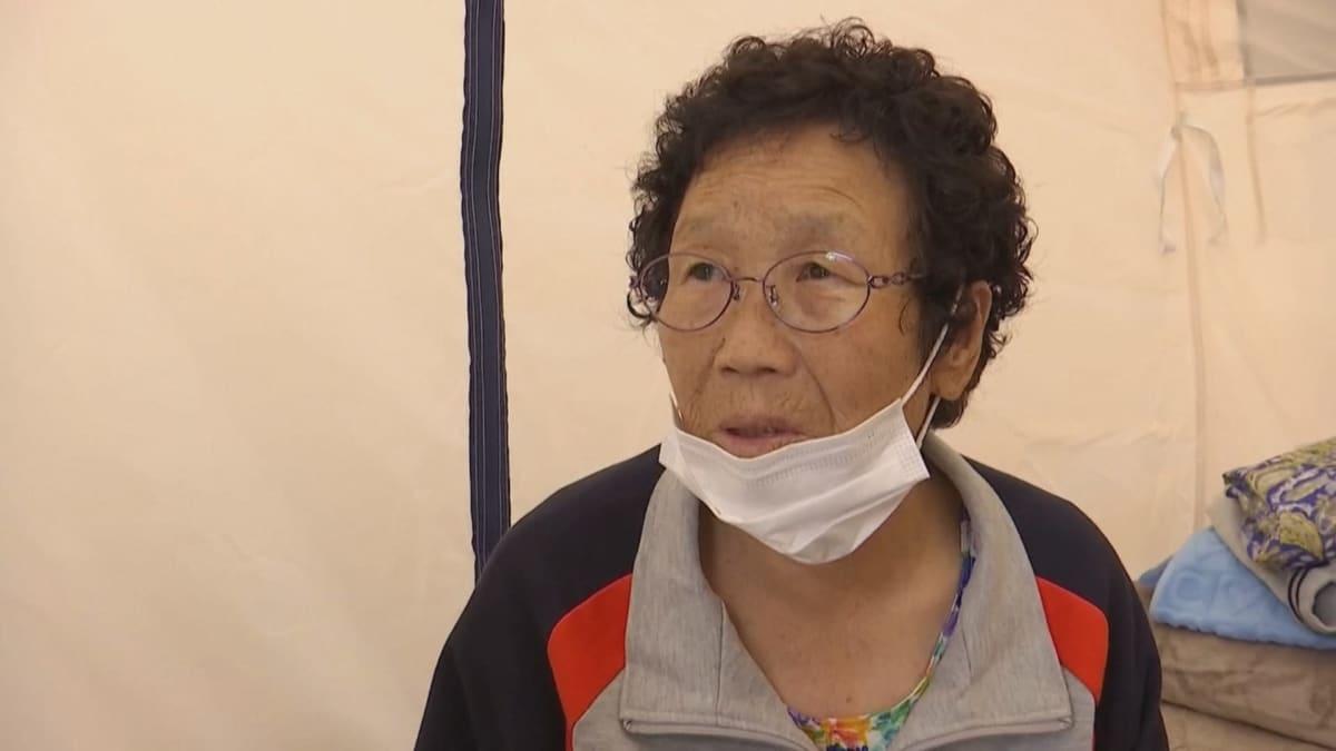 Anseongissa asuva Kwon Cha-sook joutui pakenemaan mutavyöryä.