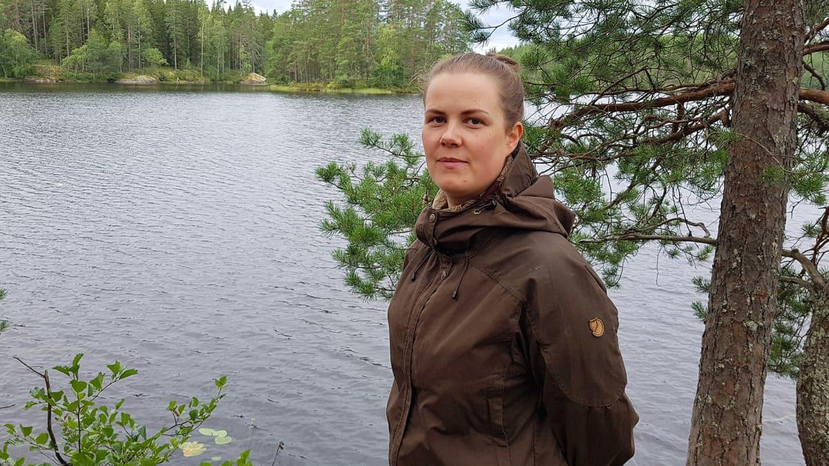 Anni Paarma Haarikon kansallispuistossa