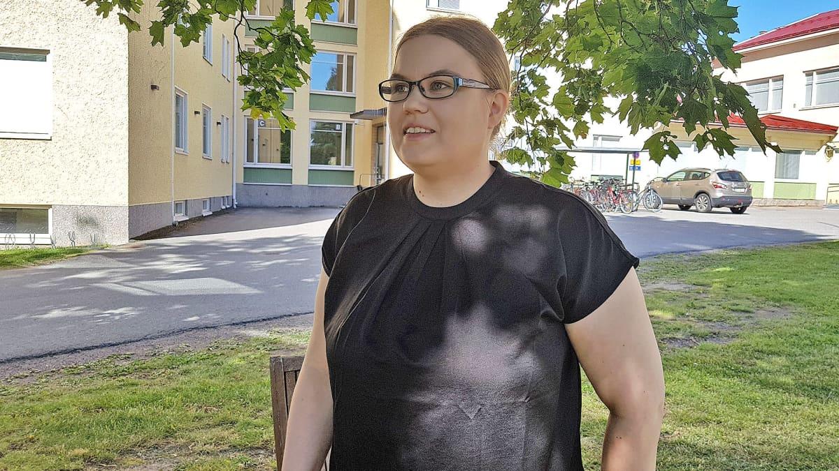Fysioterapeutti Sara Suikkanen