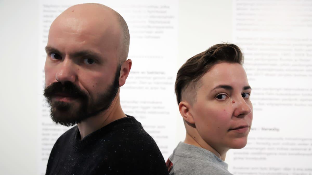 Nabbteeri, eli taiteilijaduo Janne Nabb ja Maria Teeri lähikuvassa