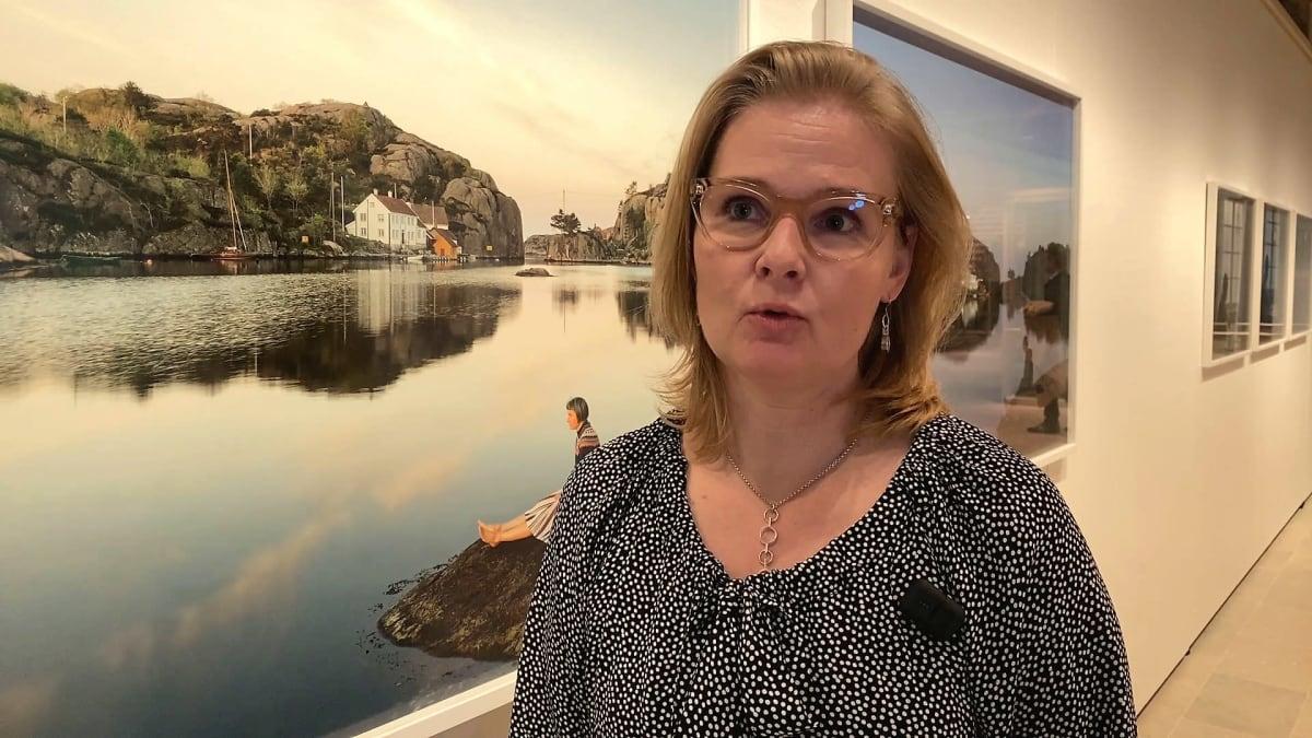 Hämeenlinnan taidemuseon johtaja Jenny Valli