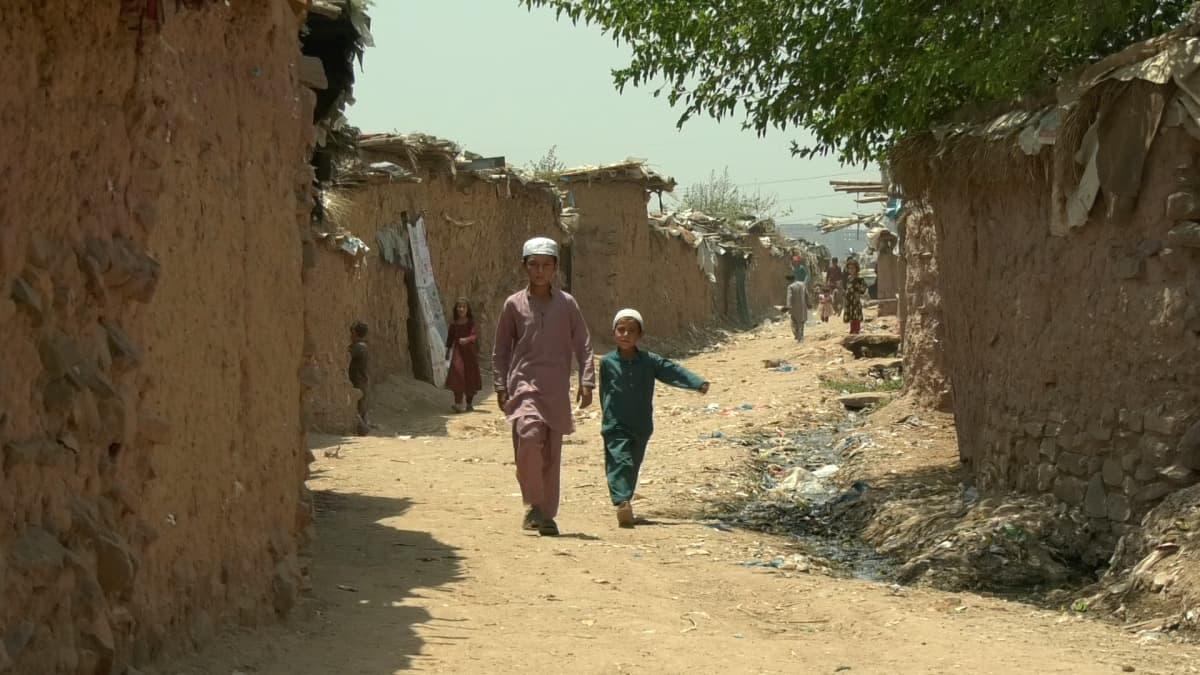 Kuja pakolaisleirillä Pakistanin Islamabadissa.