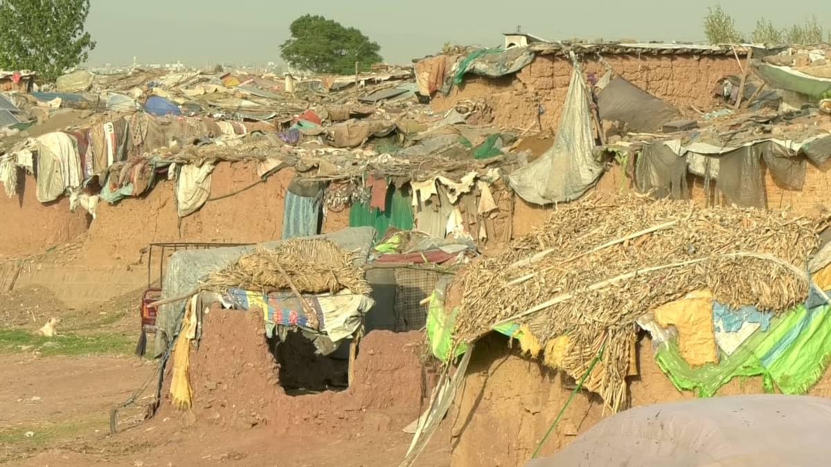 Pakolaisleiri Pakistanin Islamabadissa.