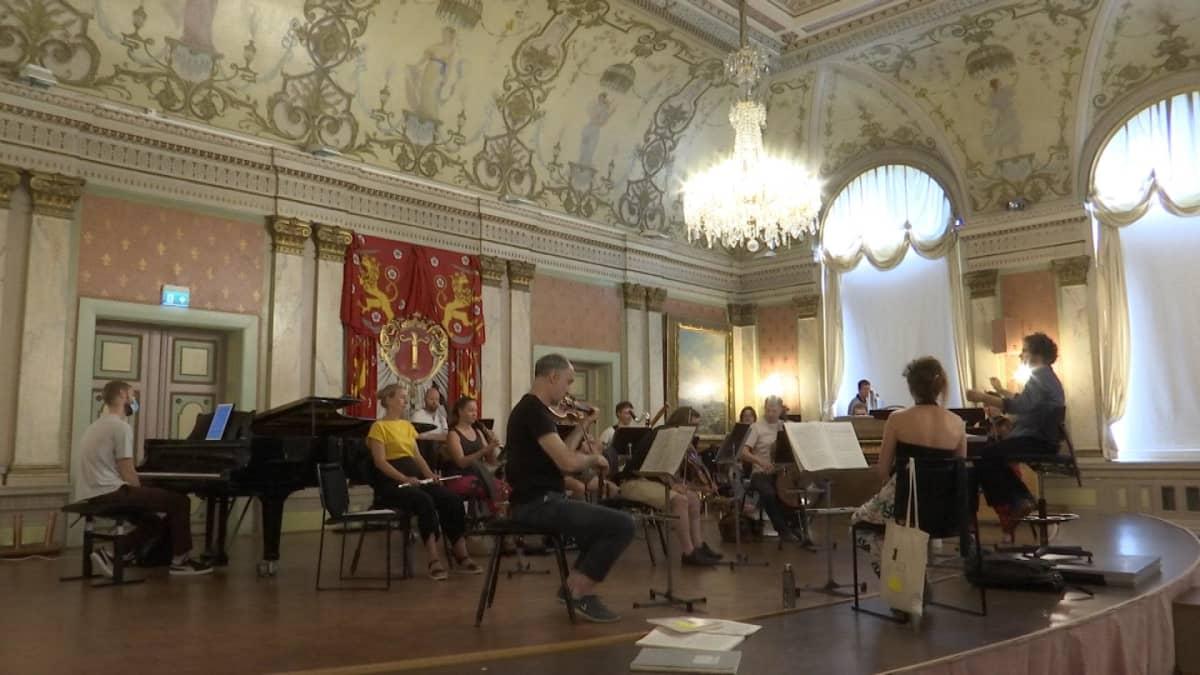 Korsholman musiikkijuhlat alkoivat virallisesti avajaiskonsertilla 28.7.2021