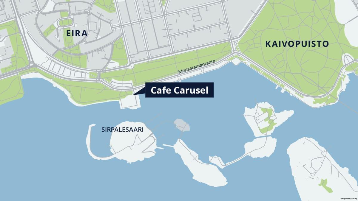 Sirpalesaari sijaitsee Helsingin Merisatamanrannan tuntumassa.