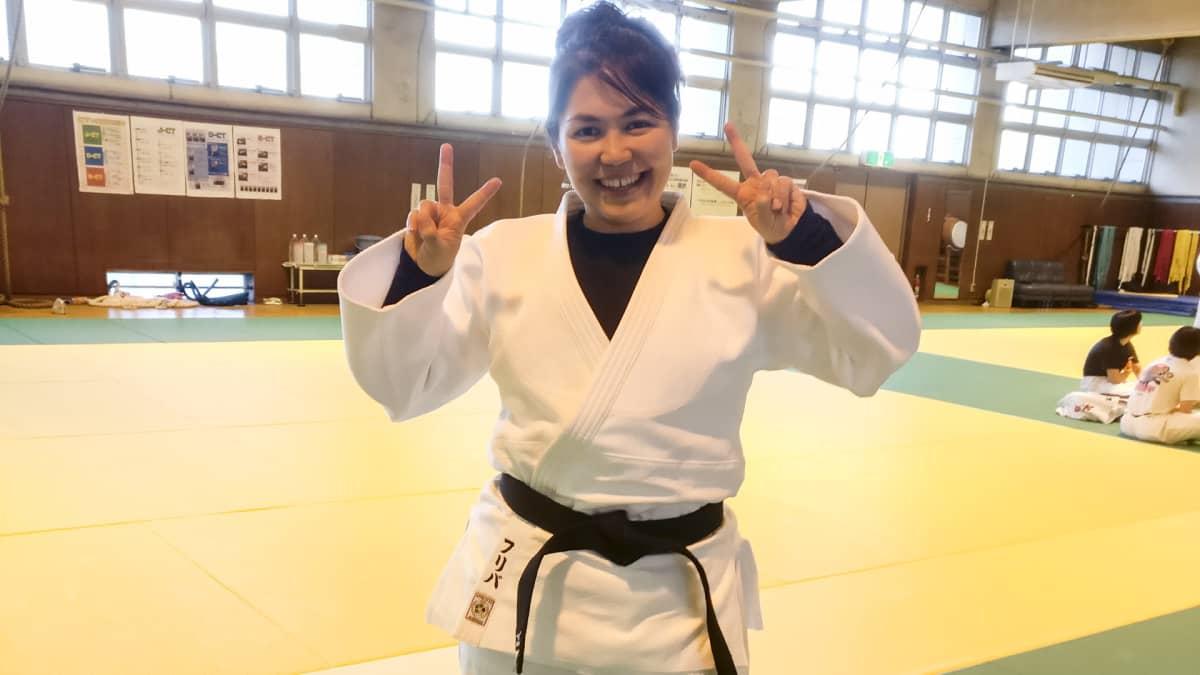 Judoka Friba Rezayee kuului Afganistanin ensimmäisiin naisolympiaurheilijoihin.