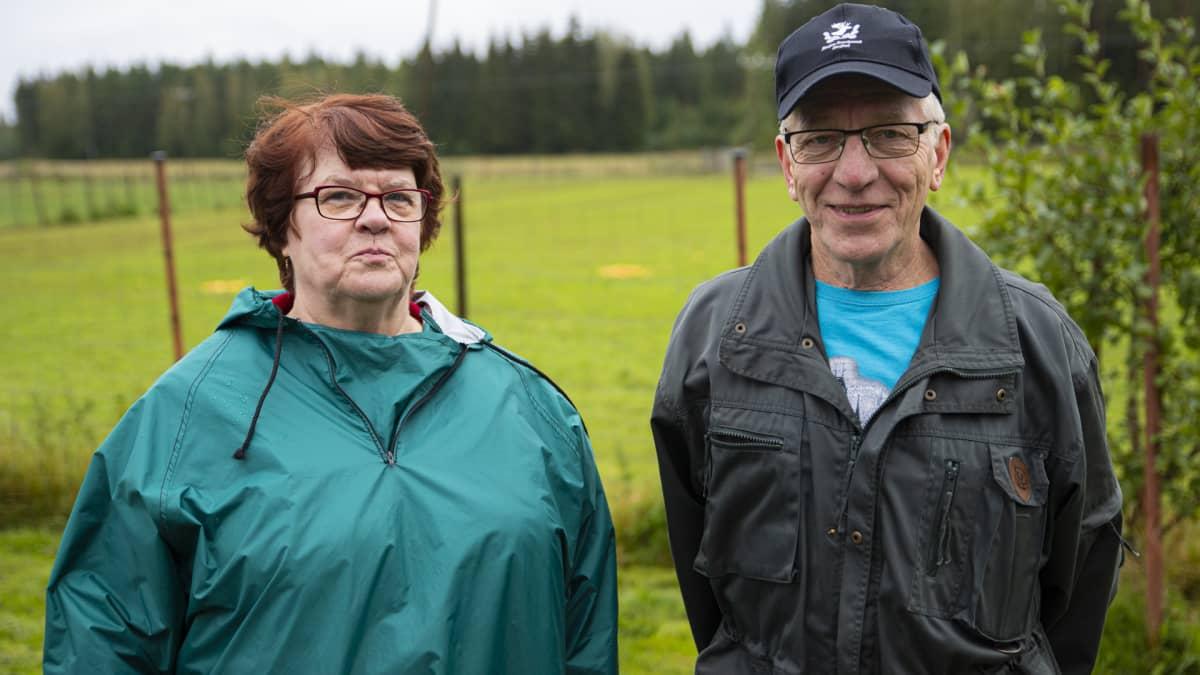 Harjun tilan Birgitta Mattila ja Valto Mattila-