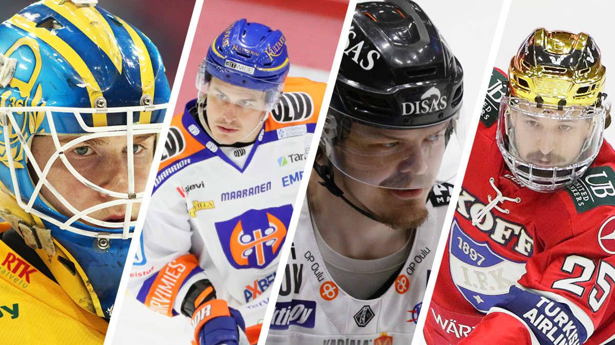 Lassi Lehtinen, Kristian Kuusela, Ville Leskinen ja Alex Broadhurst