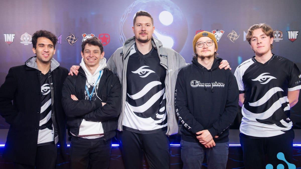 Team Secret Dota 2 -turnauksessa