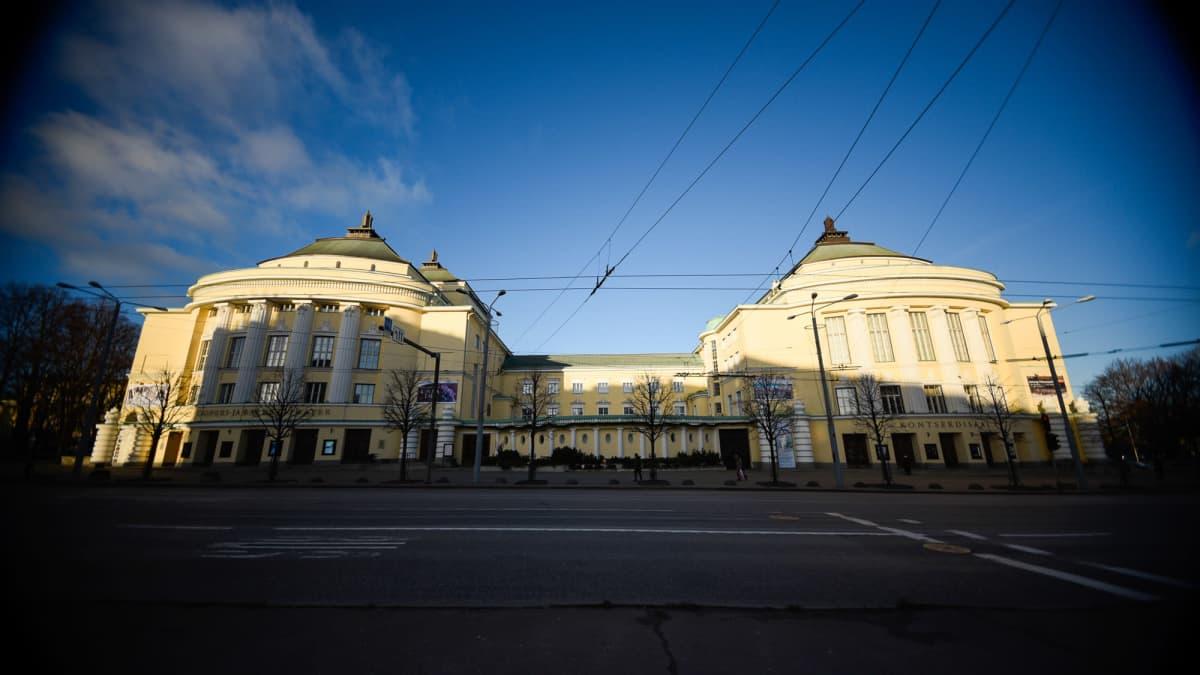 Estonia-teatteri Viron pääkaupungissa Tallinnassa