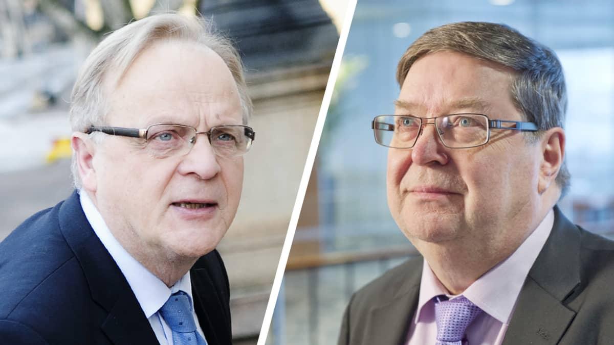 Lauri Ihalainen ja Lasse Laatunen.