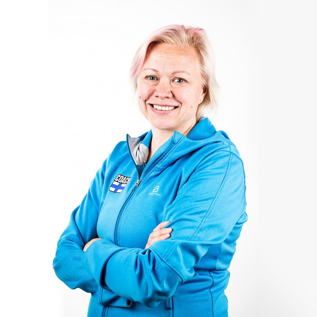 Sari Tuunainen Suomen valmentaja liitosta