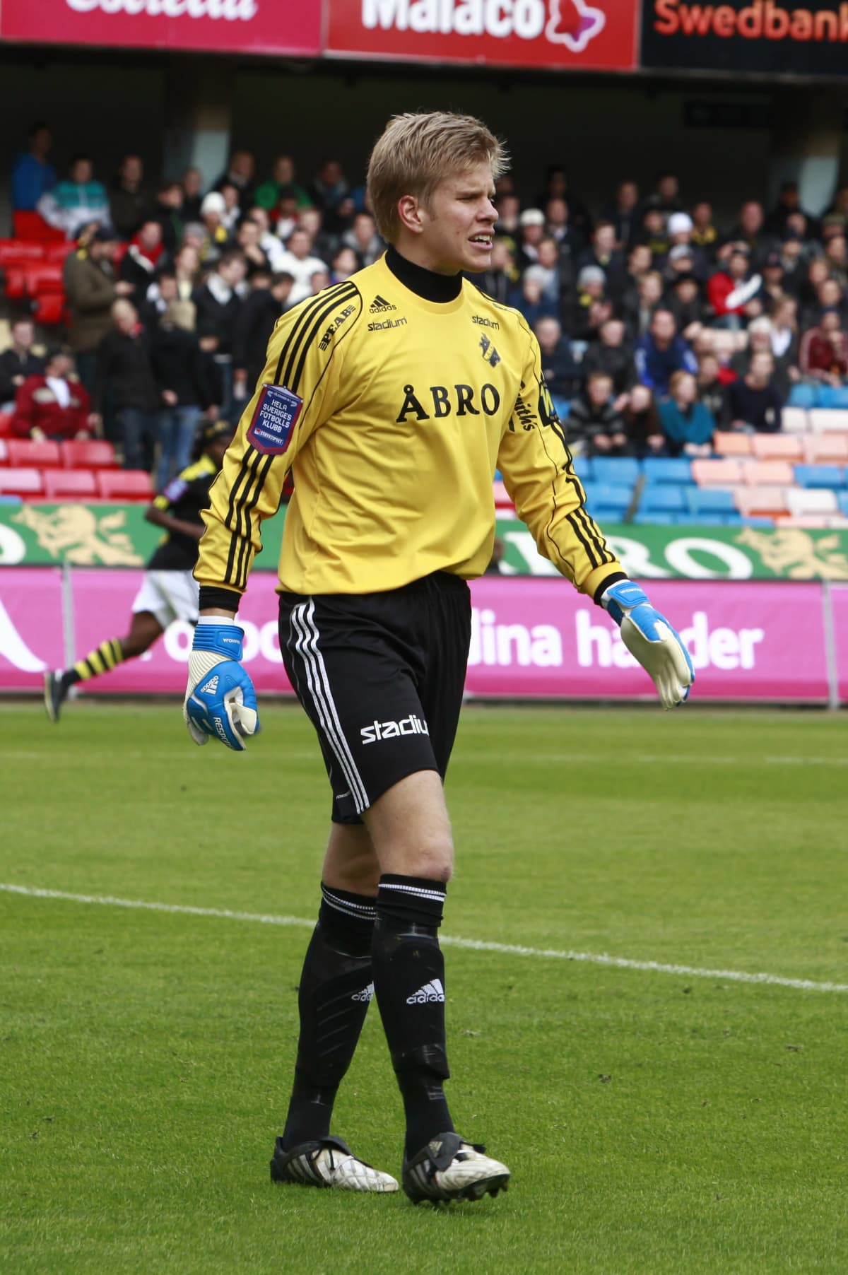 Tomi Maanoja AIK:n paidassa 9.5.2010