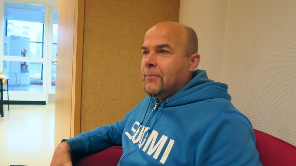 Vanhempi konstaapeli Mika Penttilä Hämeen poliisilaitoksesta.