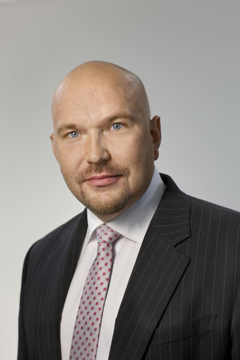 Kuvassa XFold Imaging Oy:n toimitusjohtaja Timo Jäntti