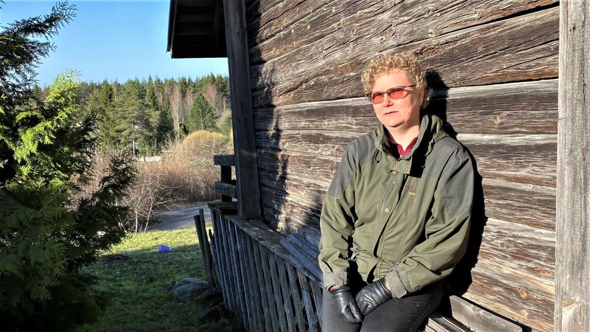 Lappeenrantalainen psykoterapeutti Minna Kivimäki.