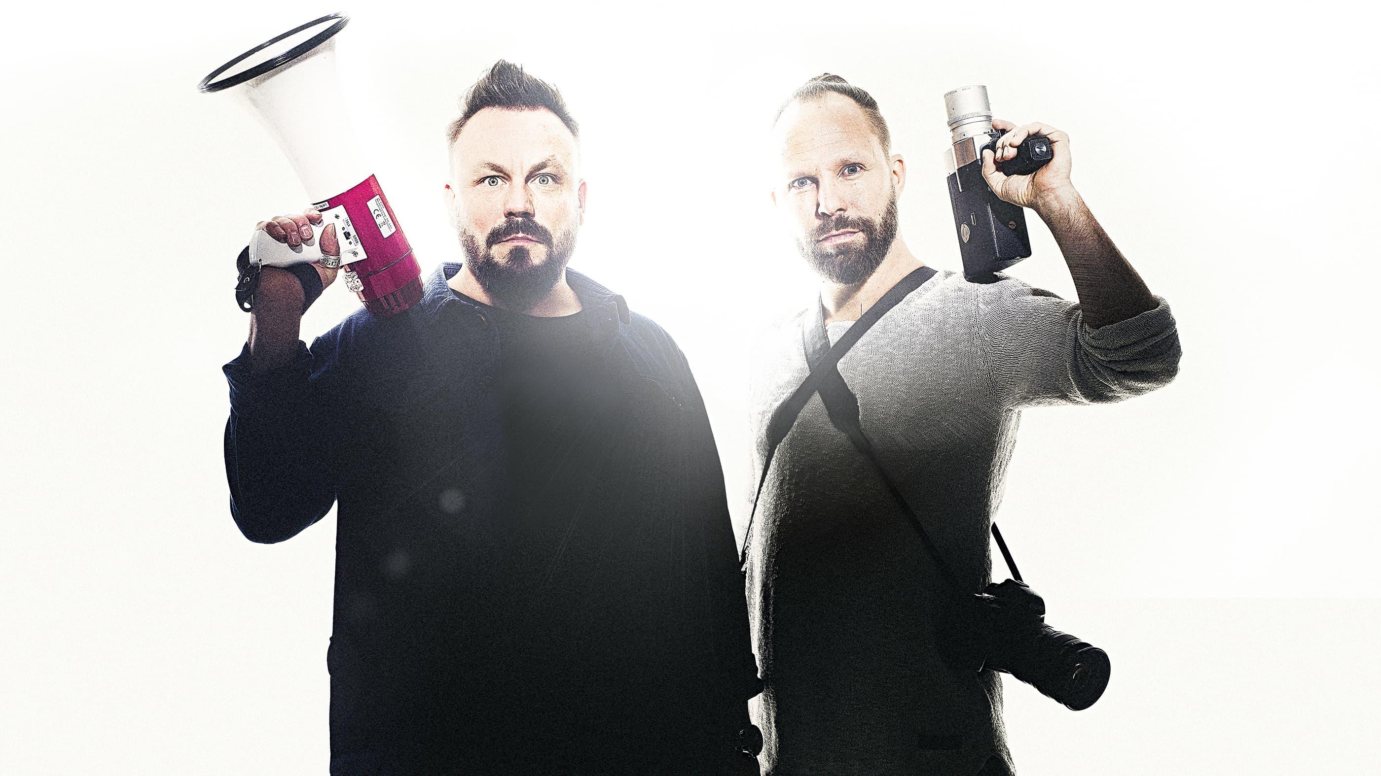 """Riku Rantala ja Tuomas """"Tunna"""" Milonoff: Docventures 5 on murroskauden tiedonvälittäjä, ajatusten ja keskustelun herättäjä."""