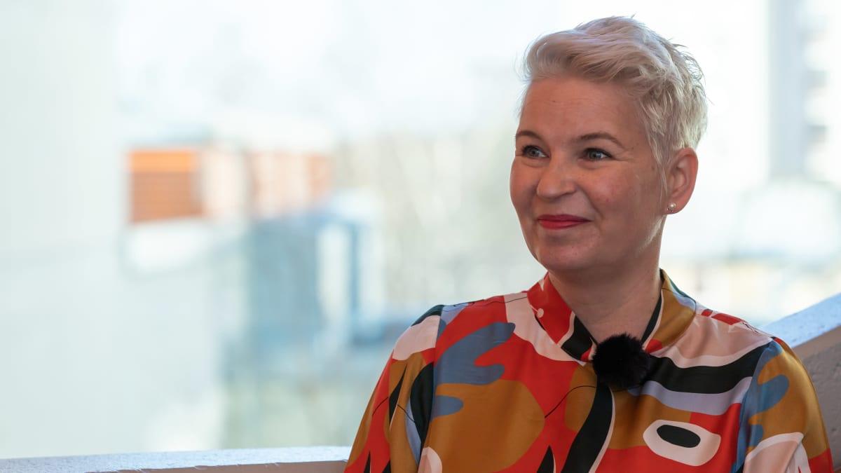 Vaasan ammattikorkeakoulun rehtori Kati Komulainen