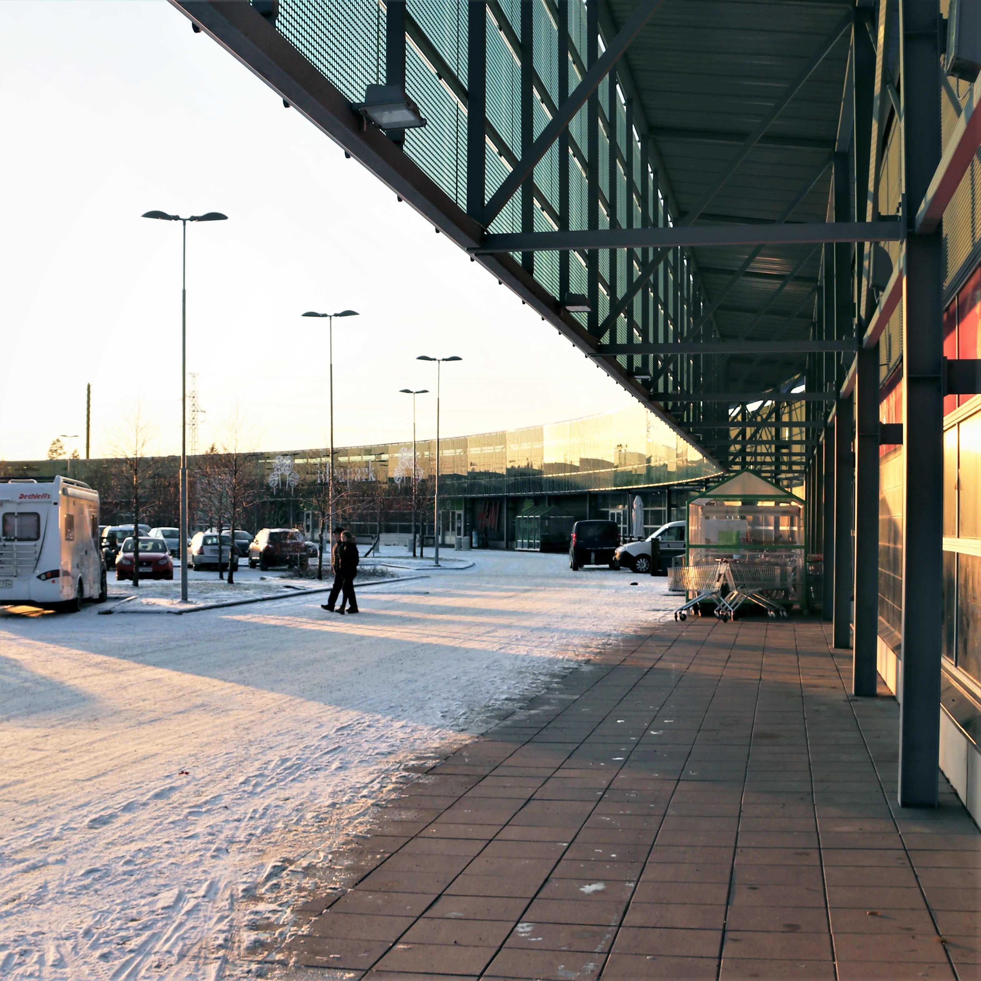 Oulun Ideapark sijaitsee Ritaharjun kaupunginosassa.