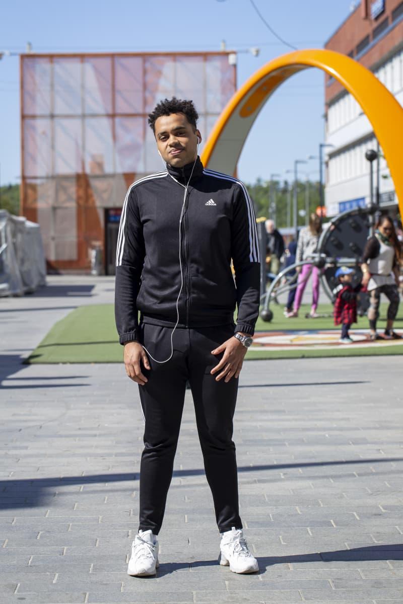 23-vuotias opiskelija Abel Kianvo