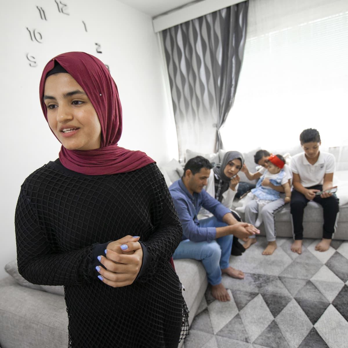 Zahra Mahmoodin perhe