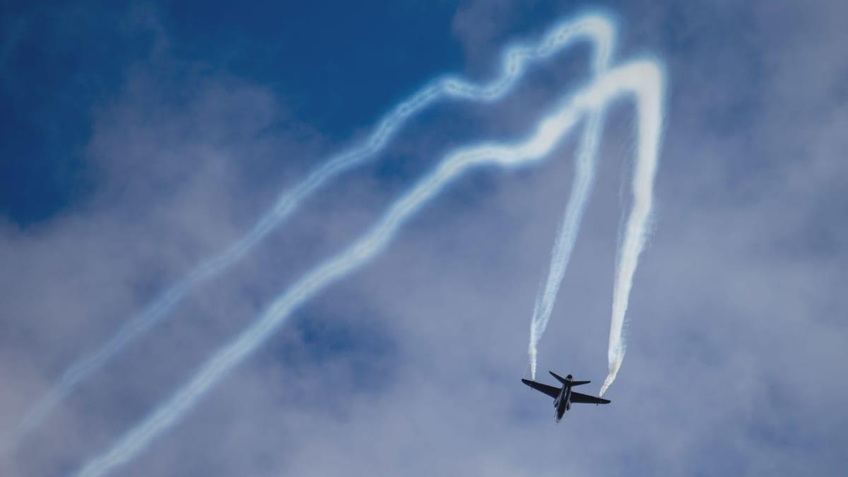 Hawk-soolo Kauhavan Airshowssa 29.8.2020