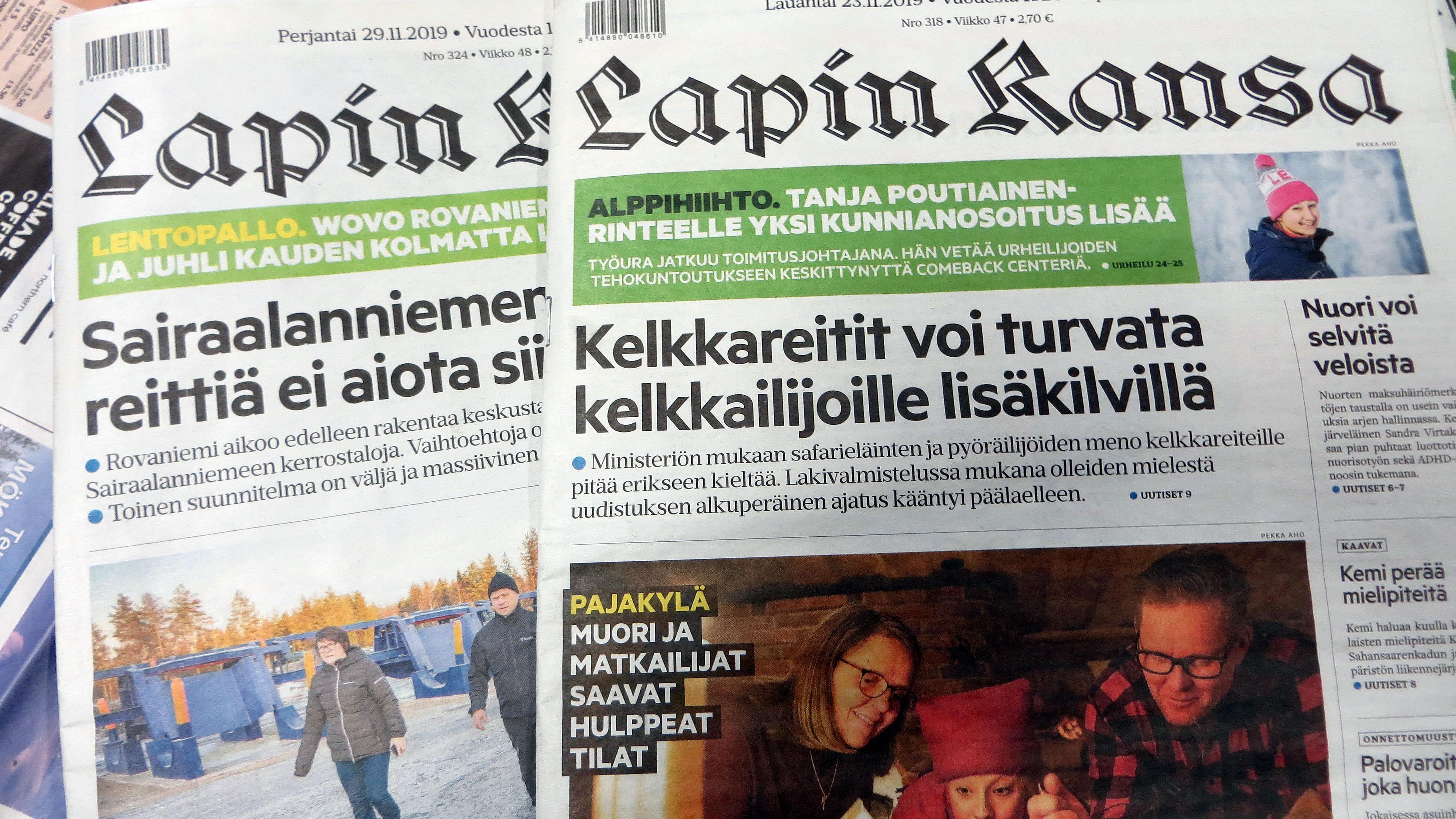 Sanomalehti Lapin Kansa