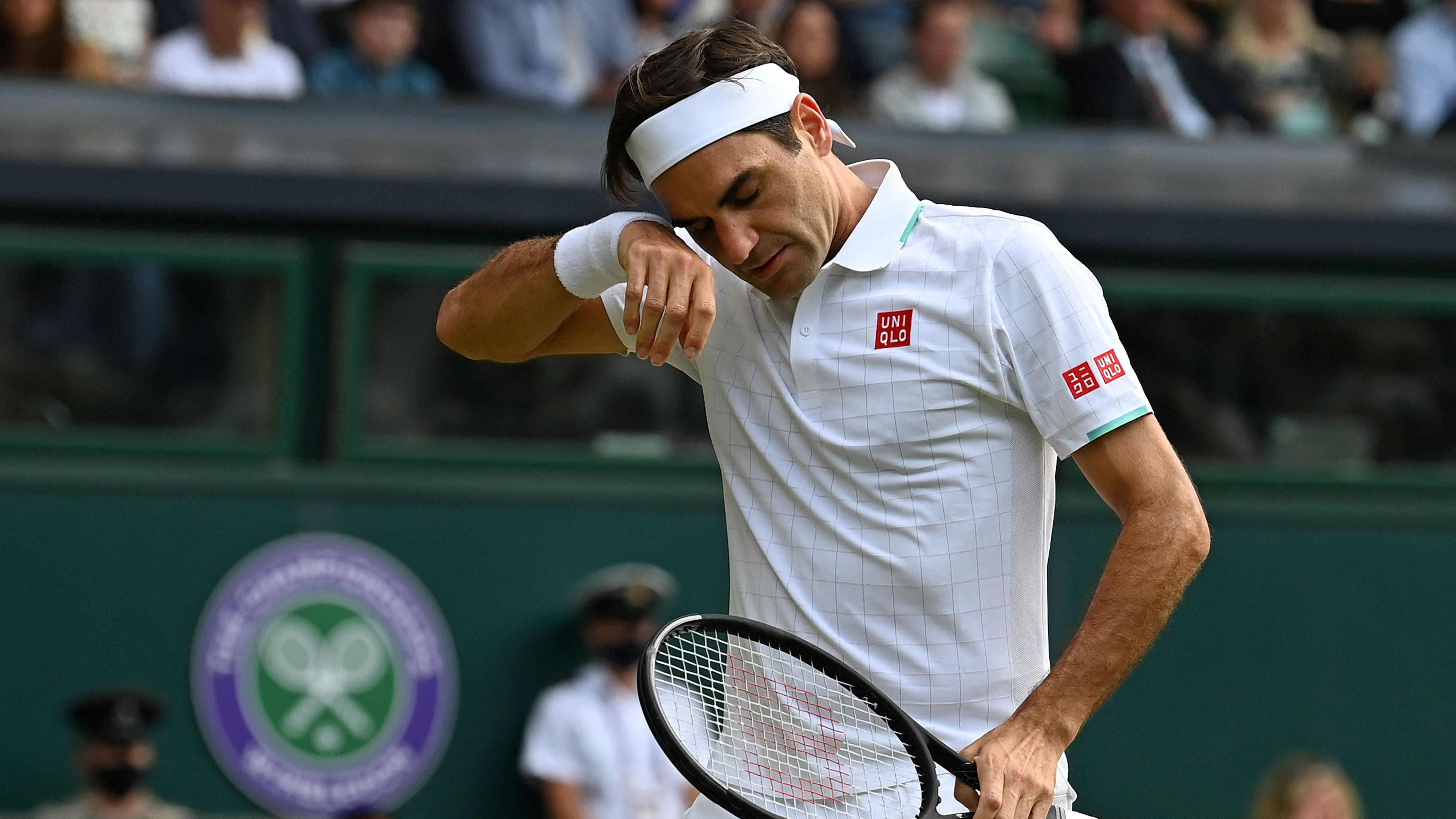 Tennispelaaja Roger Federer.