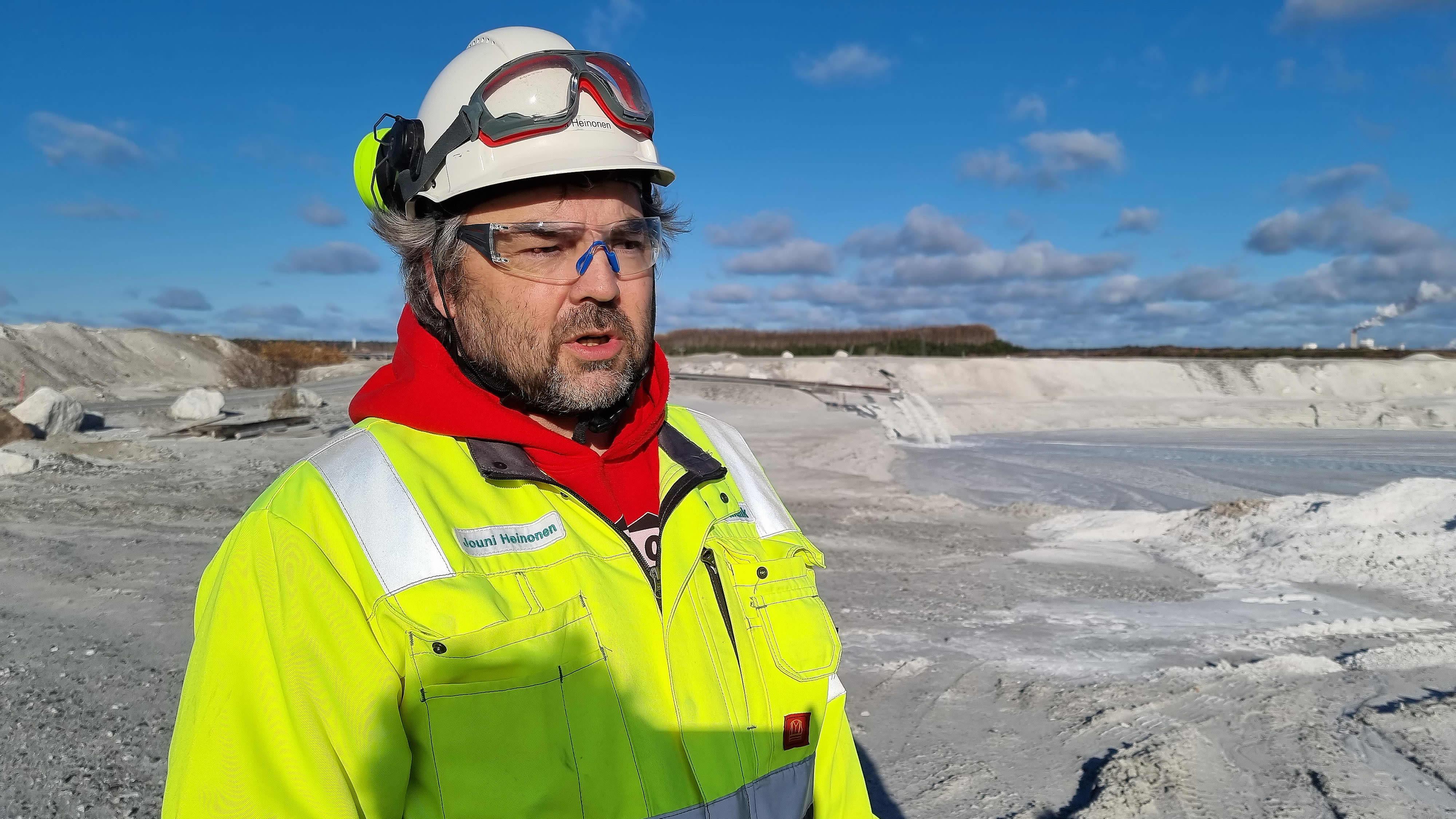 Jouni Heinonen, yksikönpäällikkö, Nordkalk