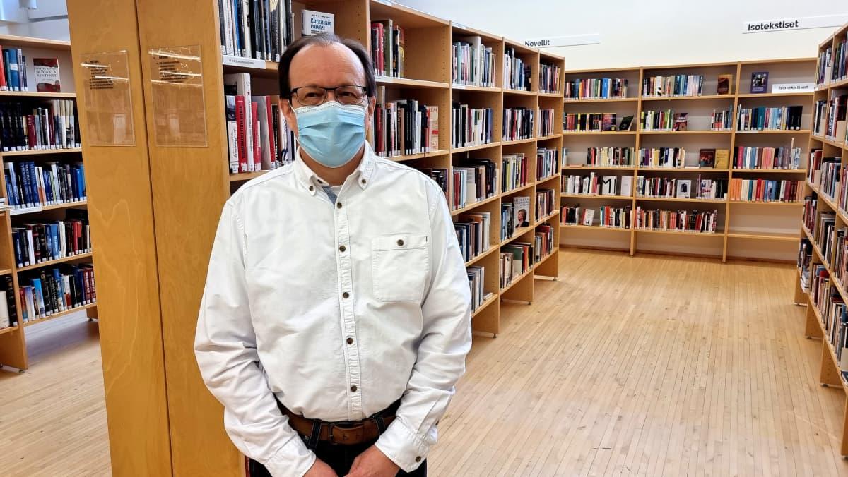 kirjastoasiantuntija Ari Sareslahti
