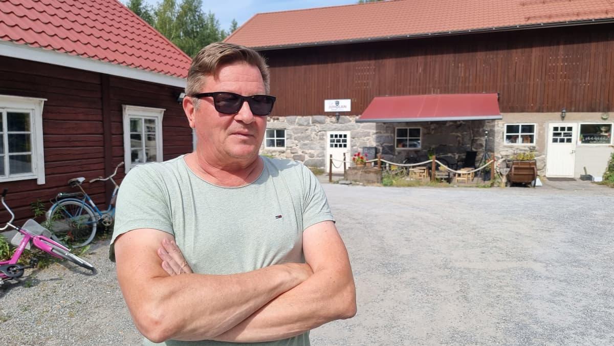 Juholan Biisoni areenan yrittäjä Matti Laukkanen