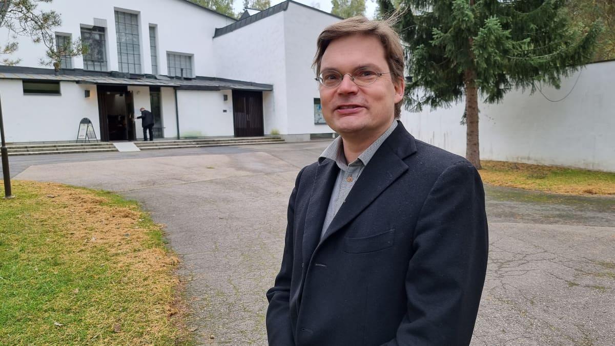 yliarkkitehti Jonas Malmberg Alvar Aalto -säätiö