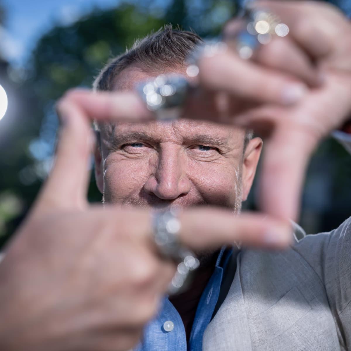 Elokuvaohjaaja Renny Harlin, Helsinki, 30.5.2020.