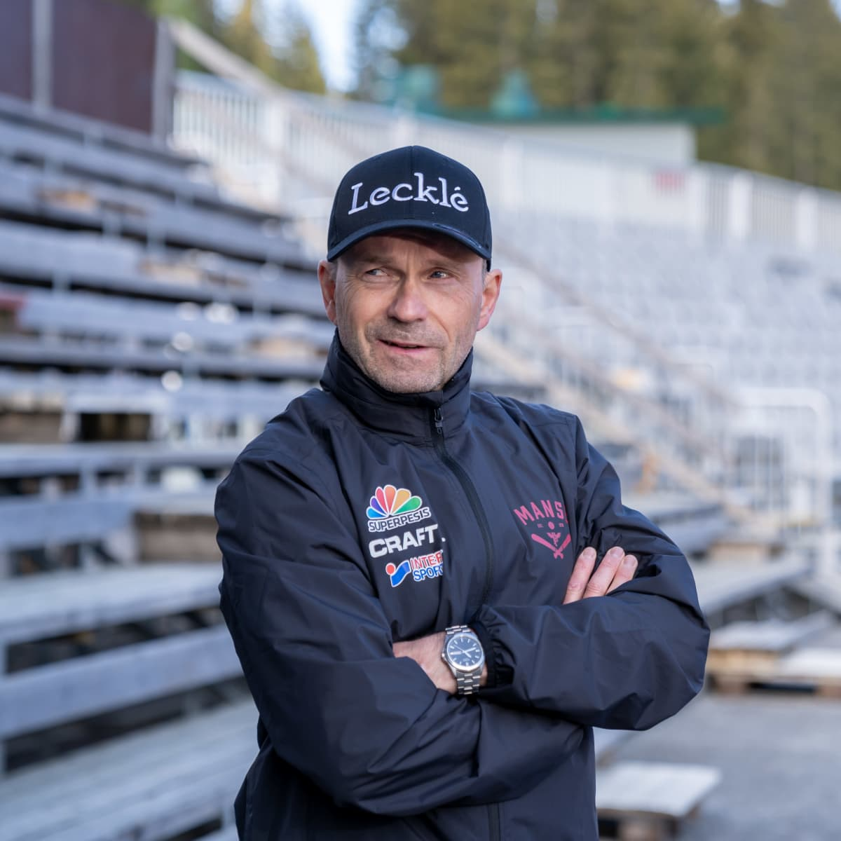 Pesäpalloseura Manse PP:n pelinjohtaja Matti Iivarinen, Tampere, 23.5.2021.